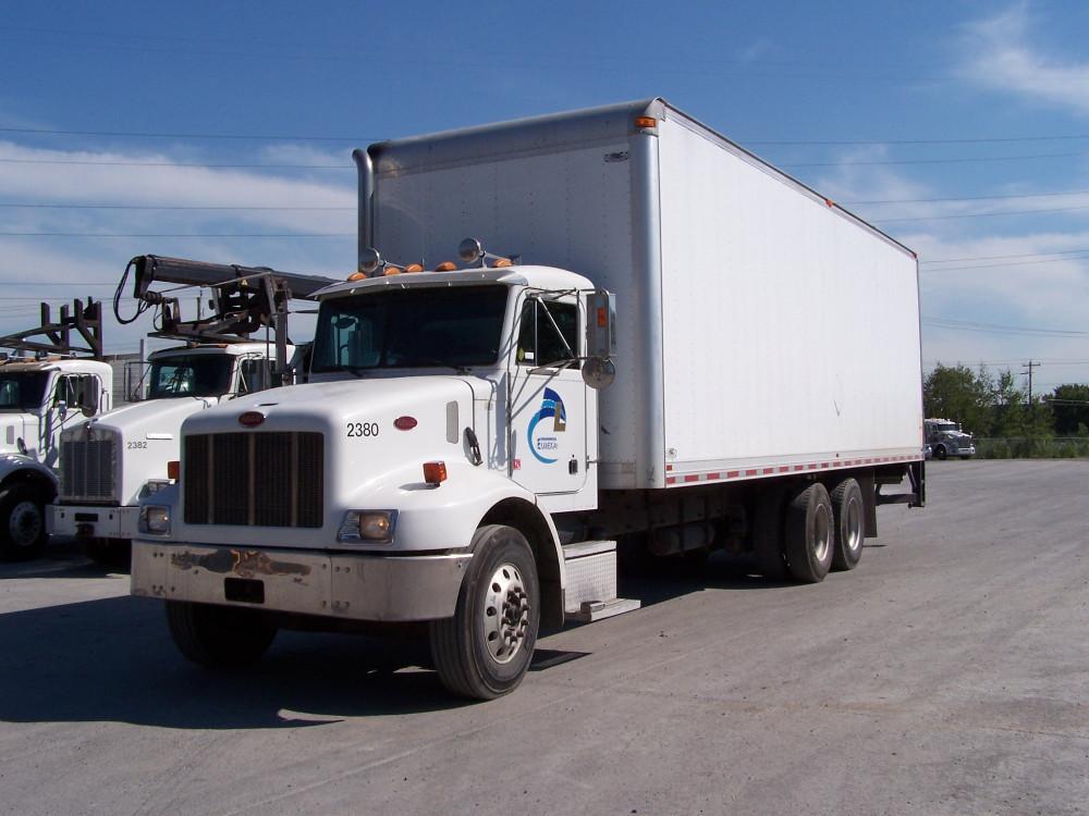 Camion porteur Boîte sèche